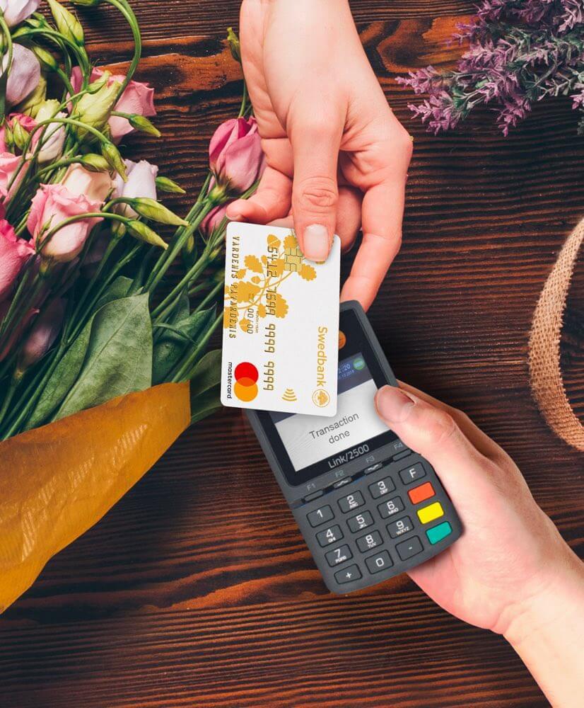 Payment cards servicing - Swedbank