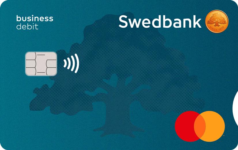 Business debit card swedbank business debit card reheart Choice Image