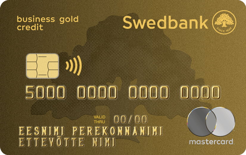 Business gold credit card swedbank a card enabling additional money and secure travelling for the company colourmoves