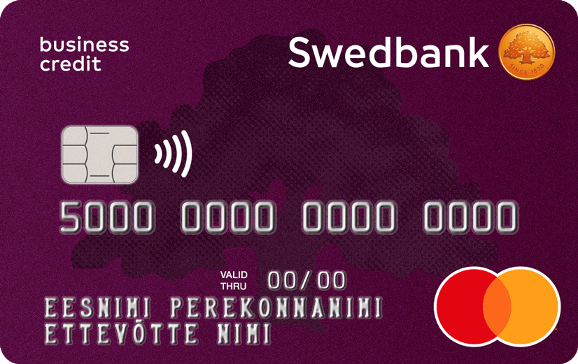 Business credit card swedbank a card enabling additional money for the company with which you can also pay bills reheart Image collections