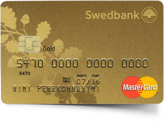 Gold charge credit card