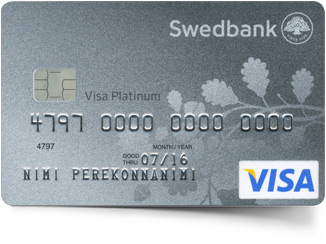 Platinum charge credit card