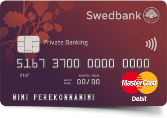 Private Banking card
