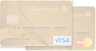 Gold fixed payment credit card