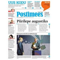 30% off subscription to Postimees