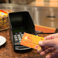 50% discount on payment terminal rental for six months