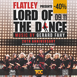 Билеты на шоу Lord of the Dance –40%