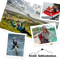 Day ticket to the Experience Park of the Kiviõli Adventure Centre -30%