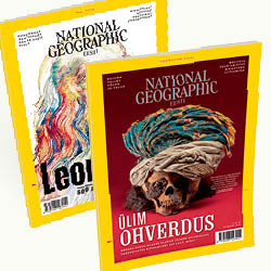 Two issues of National Geographic Eesti for 1 euro